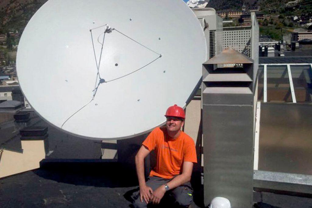 Antena Parabólica de 3metres
