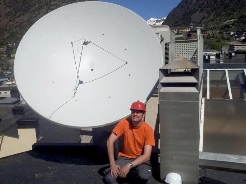 Antenne parabolique 3 mètres