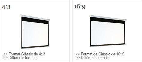 proyectores y pantallas de proyección andorra